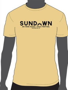 Preorder your Sundown shirts today! $15 bucks