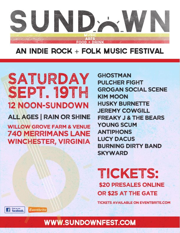 Sundown 2015 Indie Rock and Folk Fest